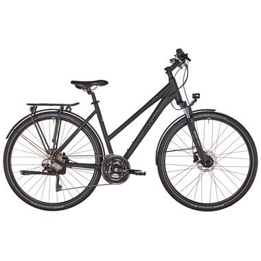 Bicicleta de viaje ORTLER ARDECHE TRAPEZ Mujer Negro 2019